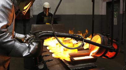 На производстве, Красноярский завод цветных металлов имени В.Н. Гулидова