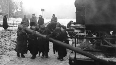 Принудительные работы еврейского населения на железной дороге. Минск, февраль 1942 года