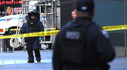 Одна из бомб была доставлена в нью-йоркское бюро CNN