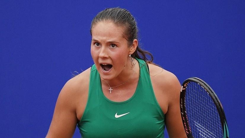 Касаткина назвала 2018 год лучшим в её теннисной карьере
