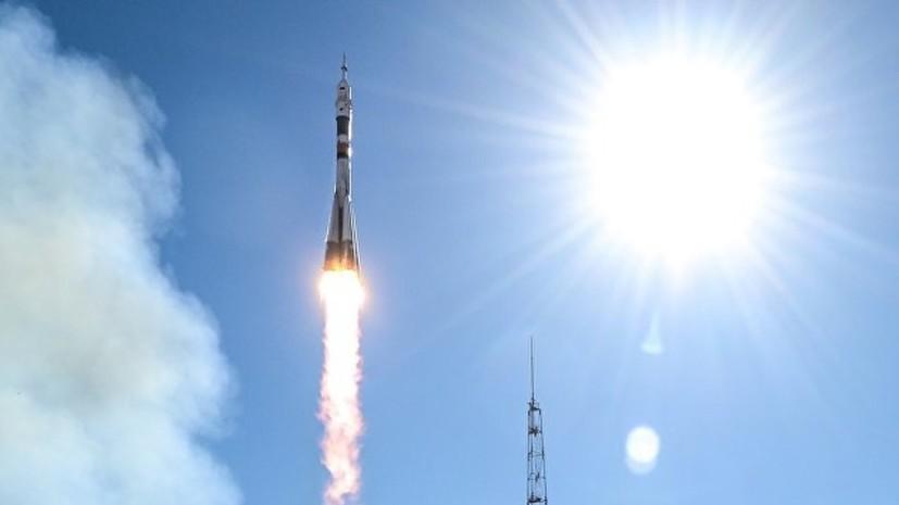 «Роскосмос» опубликовал видео аварии ракеты «Союз-ФГ»