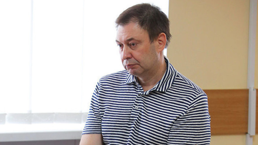 Арест Вышинскому продлили до 28 декабря