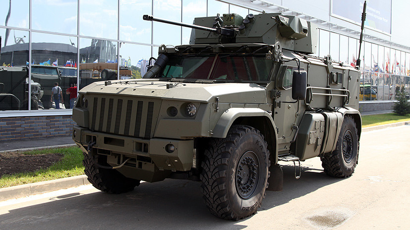 В поисках нового «Тайфуна»: в чём уникальность российских военных бронеавтомобилей