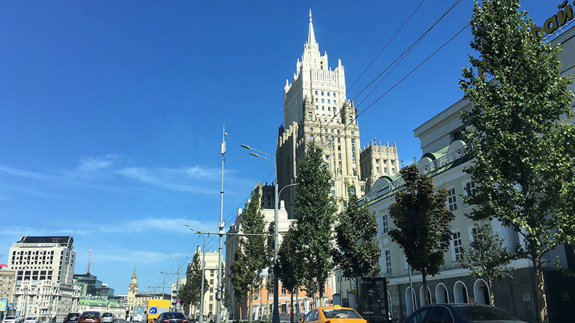 МИД России объяснил введение санкций против Украины