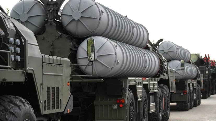 Вооружённые силы России досрочно получили полк С-400