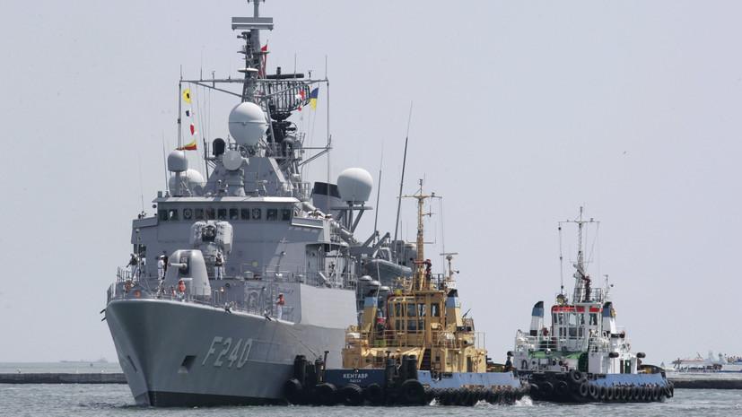 В порт Батуми зашли пять кораблей НАТО