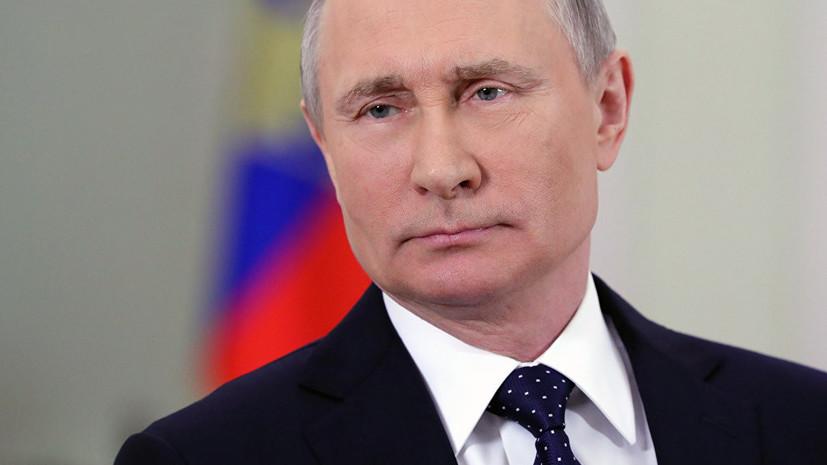 Путин примет участие в мероприятии по случаю столетия ГРУ