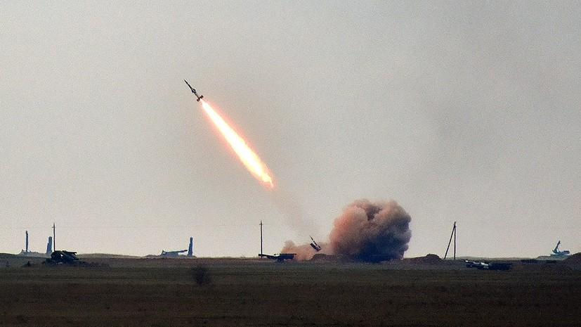 На Украине назвали цель ракетныхучений возле Крыма
