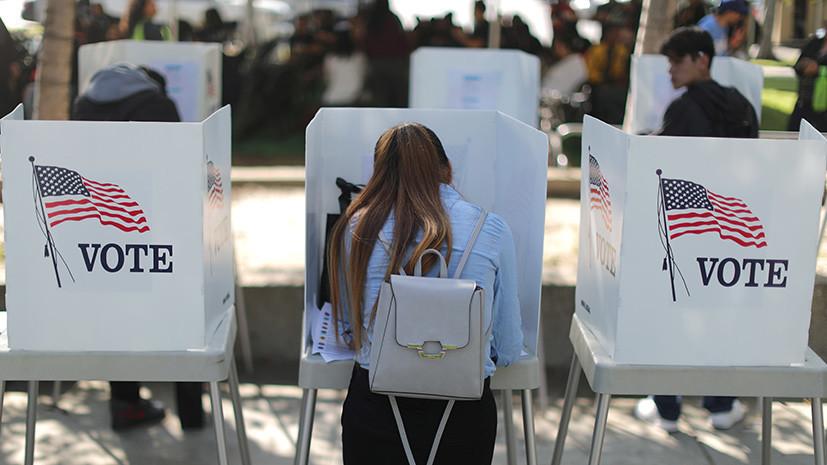 «Нет никаких свидетельств»: в США заявили об отсутствии попыток иностранных государств вмешаться в выборы в конгресс