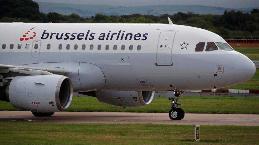 В Brussels Airlines решили отказаться от эксплуатации российских SSJ-100