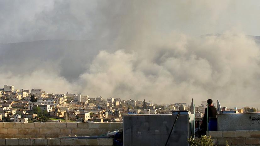 При обстрелах в Сирии погибли двое сирийских военных