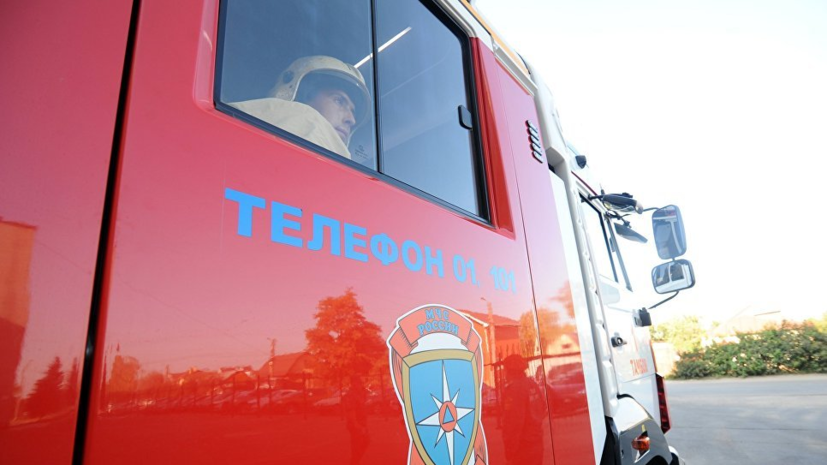 The fire in the private house in the Samara region occupied three children