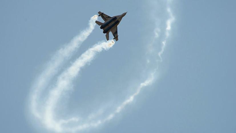В армии Египта назвали причину падения МиГ-29М