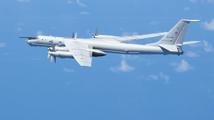 Русский  Ту-142 пролетел над флагманским кораблем США вовремя учений НАТО