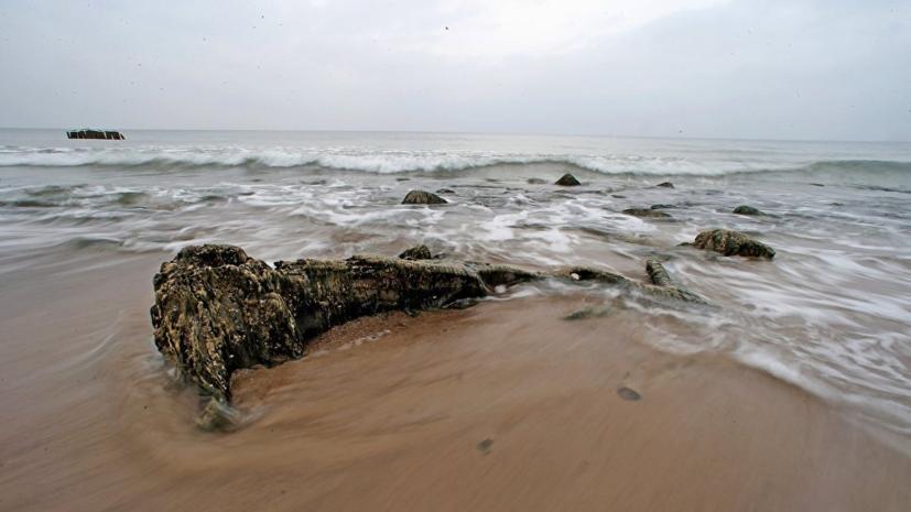Польское судно затонуло в Балтийском море
