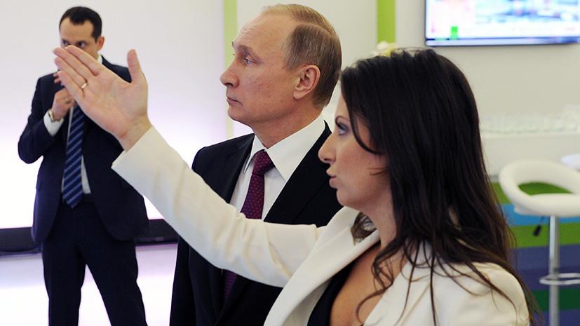 Симоньян рассказала об обсуждении с Путиным вопроса возвращения соотечественников