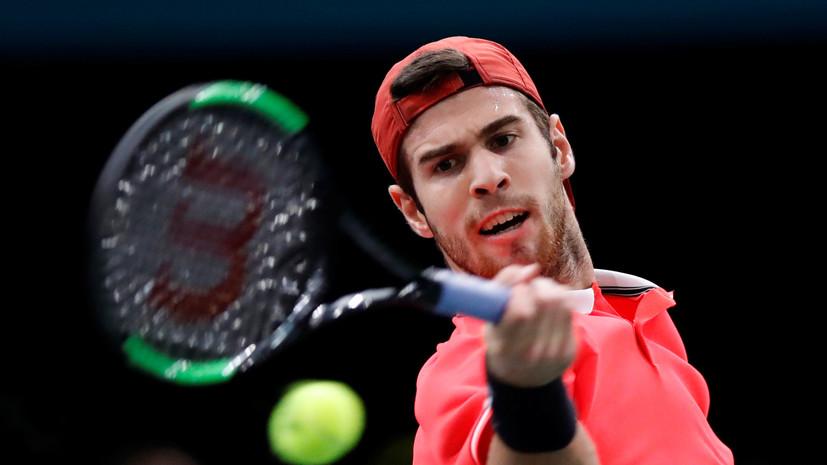 Хачанов обыграл Джоковича и стал победителем турнира ATP в Париже