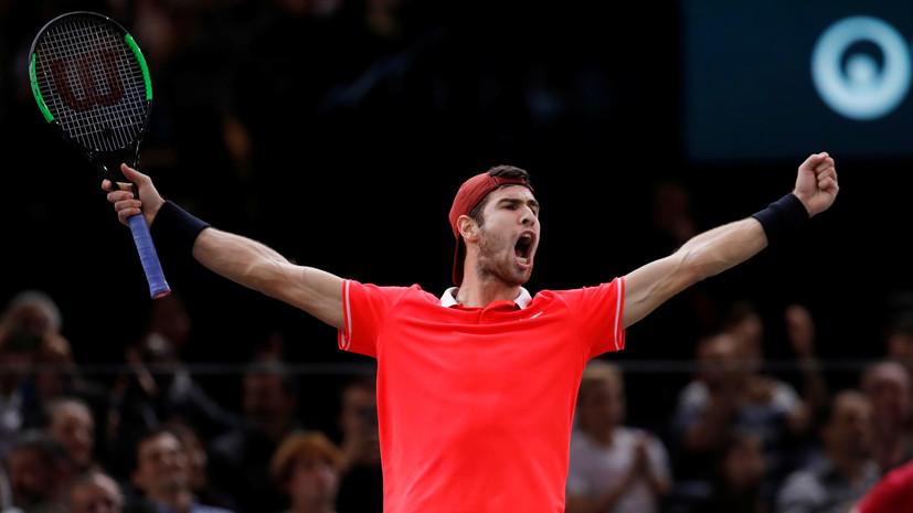 Хачанов стал четвёртым россиянином в истории, выигравшим турнир серии «Мастерс»