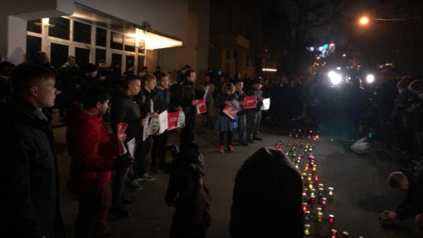 В Киеве началась акция в память о погибшей активистке Гандзюк