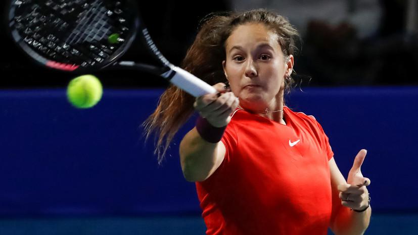 Касаткина завершила сезон на десятой строчке мирового рейтинга теннисисток WTA