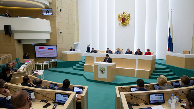 В Совфеде ответили на заявление депутата Рады об оккупации России
