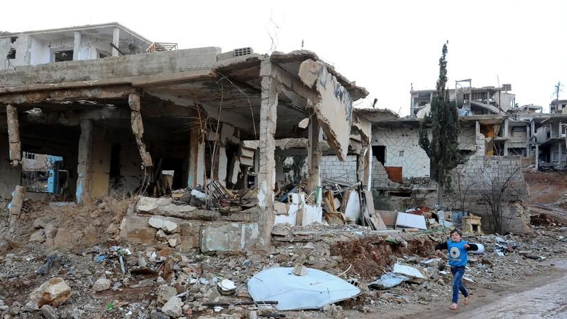 SANA: коалиция США применила белый фосфор при авиаударе в Дейр эз-Зоре