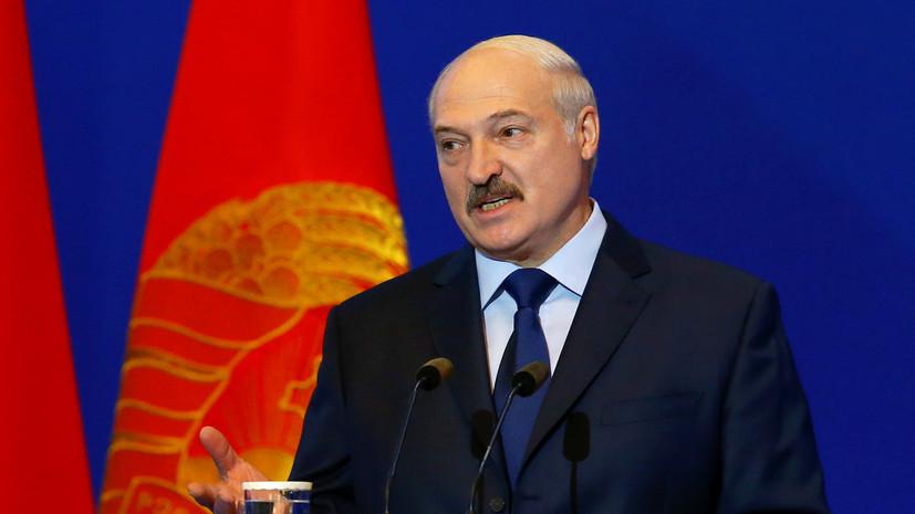Лукашенко отметил роль США в обеспечении безопасности в Европе
