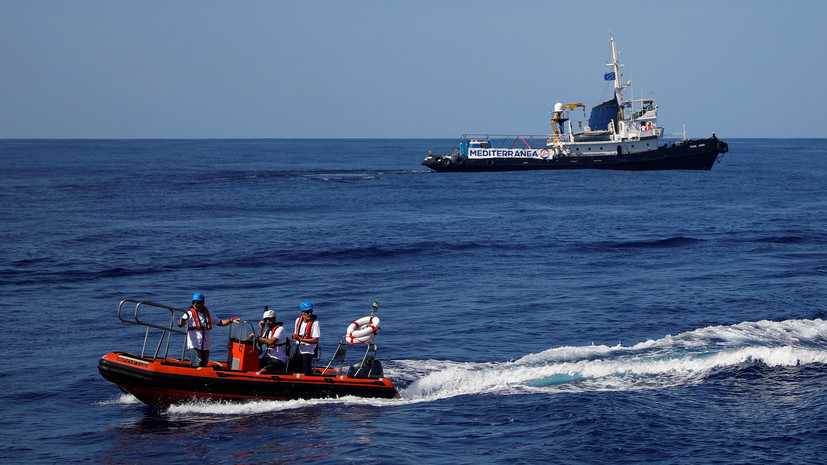 В ООН назвали число погибших в Средиземном море мигрантов в 2018 году