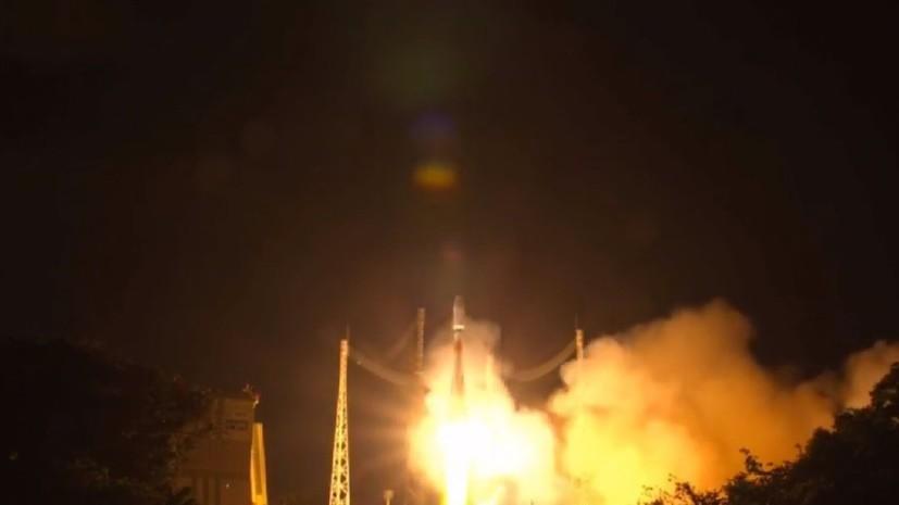Российская ракета вывела на орбиту спутник MetOp-C