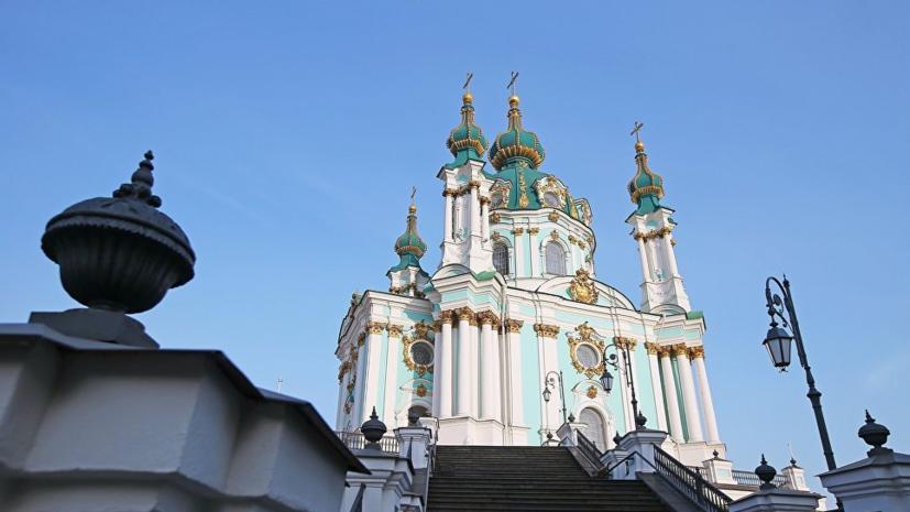 Эксперт назвал политическим жестом подписание Порошенко закона об Андреевской церкви