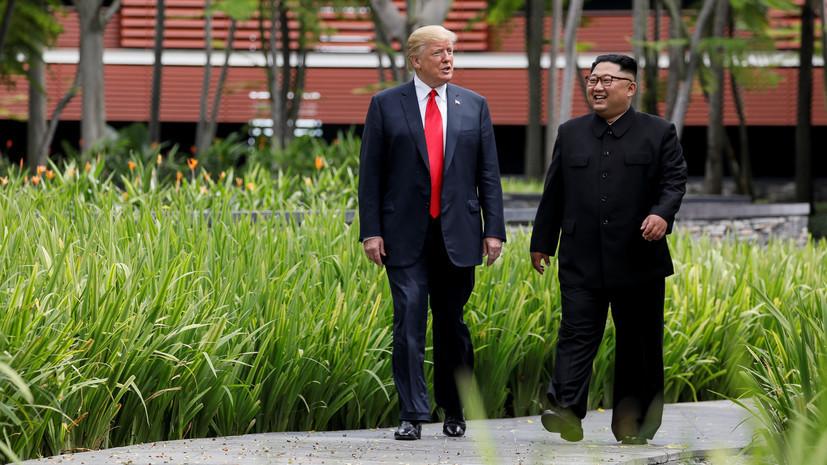 Трамп заявил, что встретится с Ким Чен Ыном в начале 2019 года