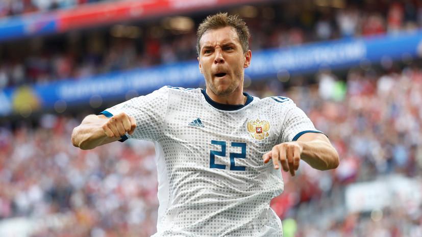 Экс-футболист «Зенита» Ригони считает, что Дзюба заслуживает звания национального героя после ЧМ-2018
