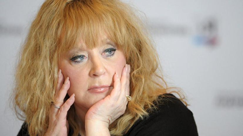 Пугачёва отменила выступление на юбилее Агутина из-за болезни