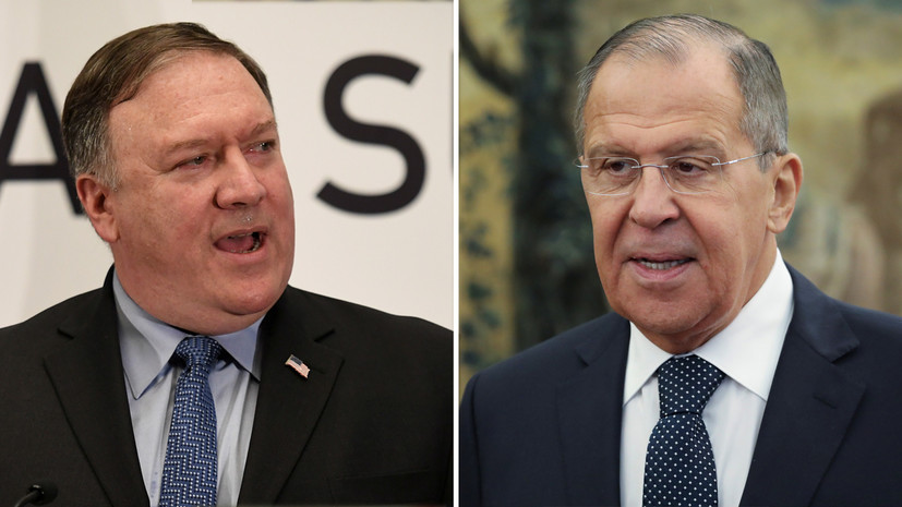 В МИД допустили возможность встречи Лаврова и Помпео на G20
