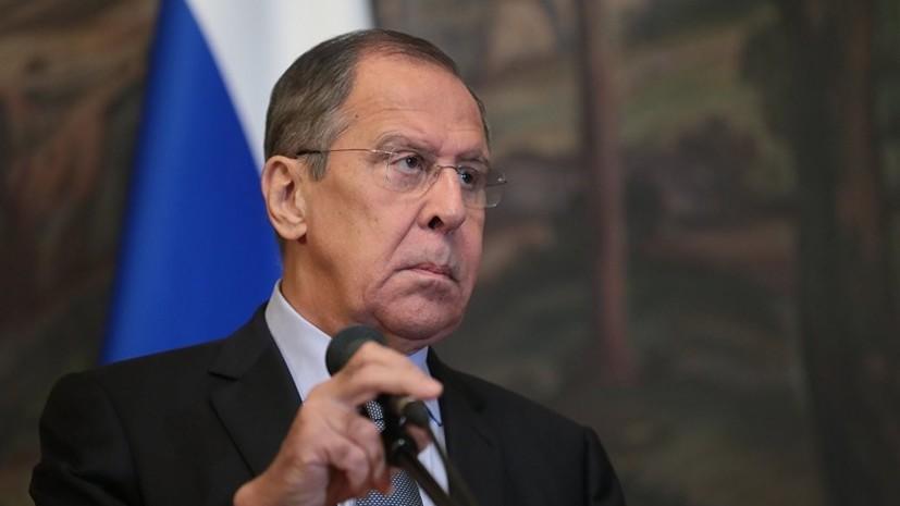 Лавров: Россия выступает за сохранение единого Афганистана