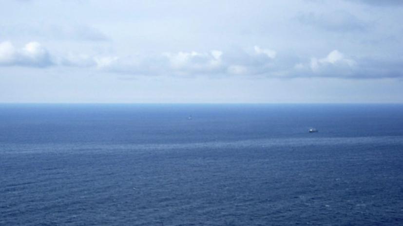 В Охотском море затонуло частное судно