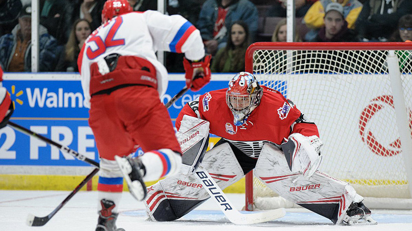 Classic Standoff Russia S Youth Hockey Team Gives Way To Canada In