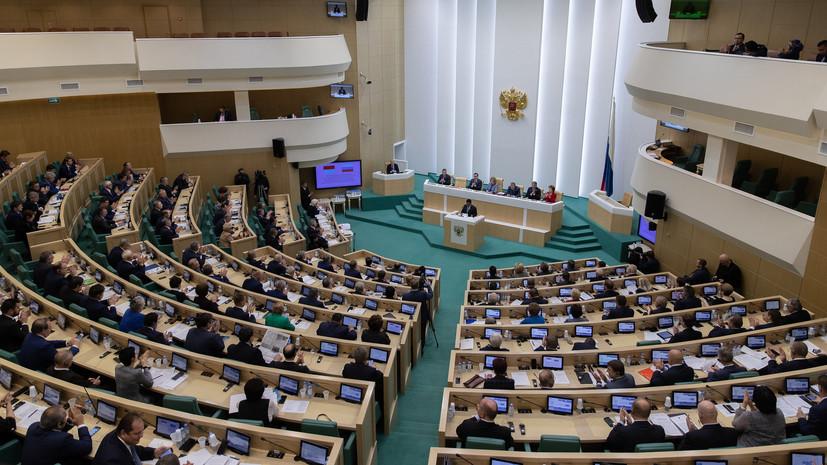 В Совфеде прокомментировали введение США новых санкций по Крыму и Донбассу