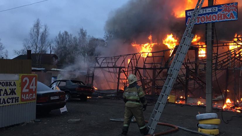Число погибших в результате пожара в Ленинградской области возросло до пяти