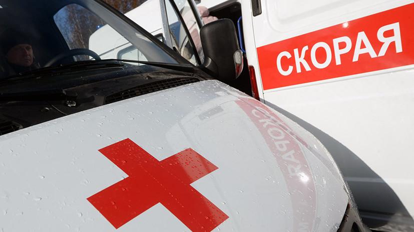 В ДТП с участием автобуса в Москве пострадали семь человек