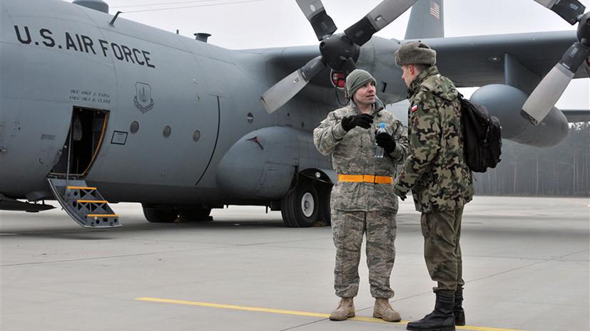 Переход на военные рельсы: США намерены расширять железнодорожные пути на авиабазе в Польше