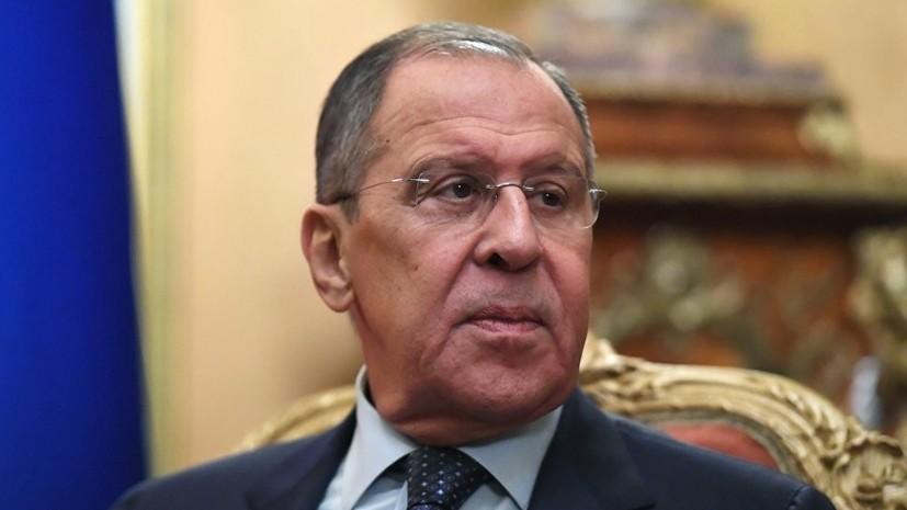 Лавров и Чавушоглу обсудили подготовку к встрече по Сирии в Астане