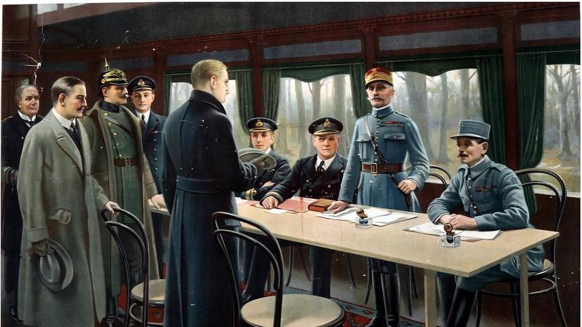 «На торжестве одних и унижении других»: почему Версальский мир в итоге привёл к войне