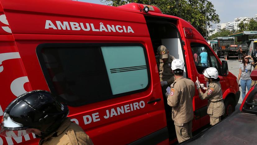 Число погибших из-за оползня в Бразилии возросло до 14