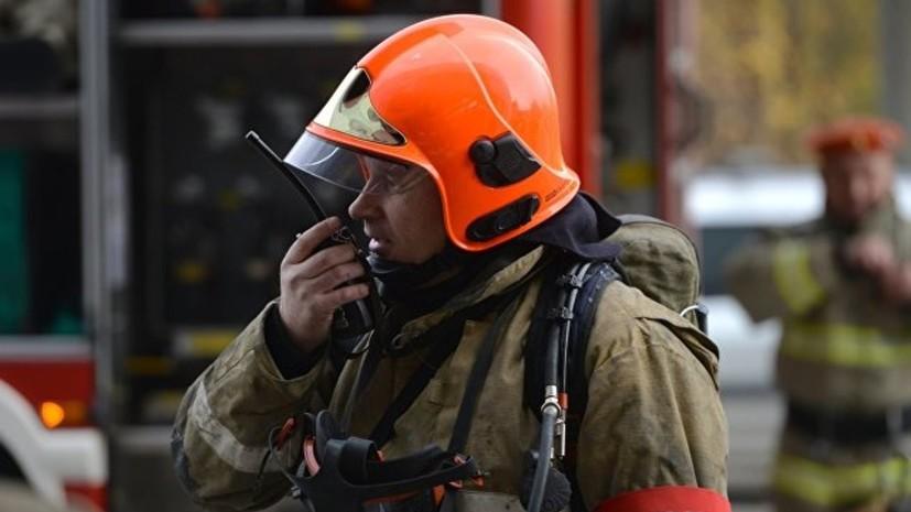 СМИ: В Рязани произошёл пожар на заводе по производству жидкости для розжига