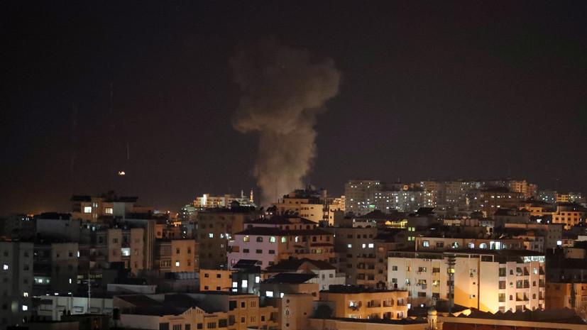 В Госдуме прокомментировали авиаудары Израиля по сектору Газа