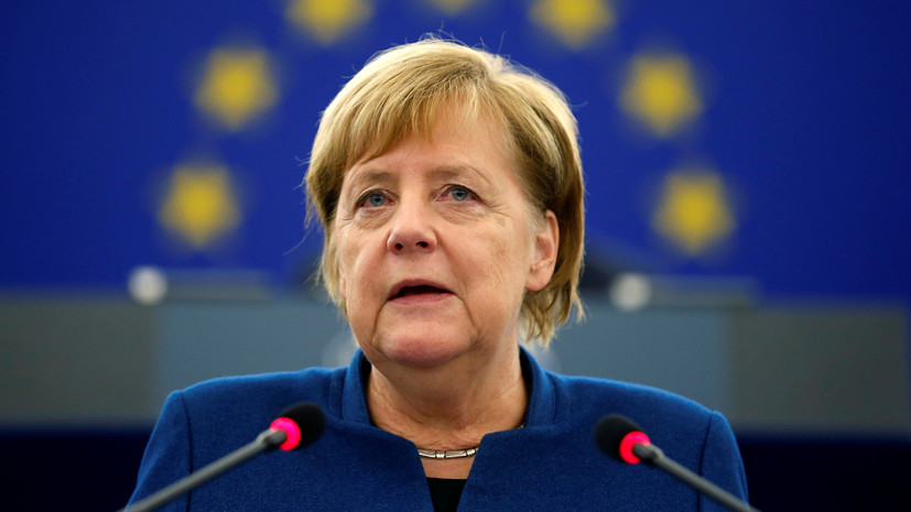 Меркель предрекла Европе катастрофу