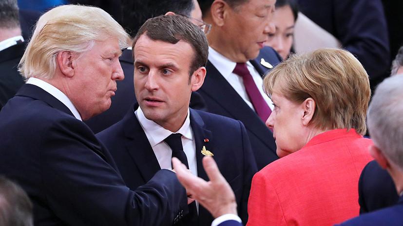 «Кавалерийский наскок»: Трамп связал идею о создании общеевропейской армии с низкими рейтингами Макрона