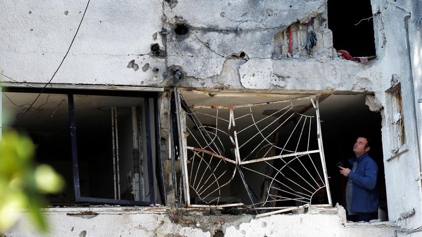 Палестинские радикалы объявили о прекращении огня против Израиля