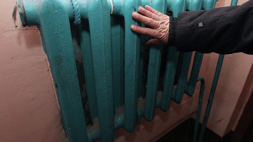 Протестующие перекрыли центр Киева из-за отсутствия тепла в квартирах